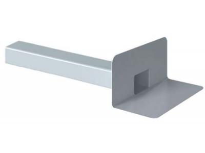 Парапетная воронка для ПВХ-мембран Fachmann VC-PVC 100x100 без листвоуловителя и отвода