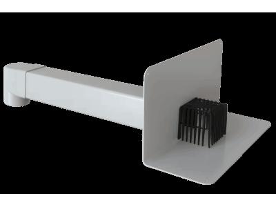 Парапетная воронка для ПВХ-мембран Fachmann VC-PVC 100x100