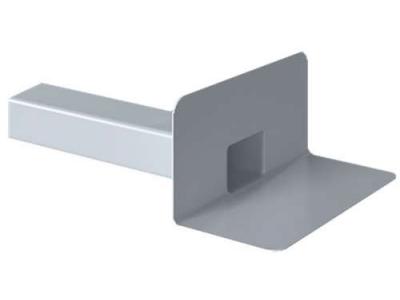 Парапетная воронка для ПВХ-мембран Fachmann VC-PVC 100x100 без листвоуловителя и отвода, ЭКОНОМ