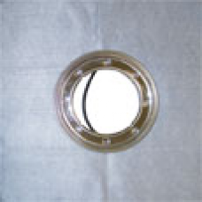 Фланец нержавеющая сталь обжимной гидроизоляционный Дн 148 с полотном типа Montaplast B, резиновым уплотнительным кольцом 500х500мм HL HL8300.M