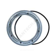 Фланец нержавеющая сталь обжимной гидроизоляционный Дн 198 с резиновым уплотнительным кольцом HL HL86.0