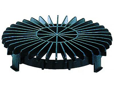 Решетка-листвоуловитель HL170 d 150мм