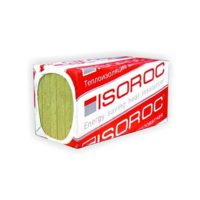 Базальтовая вата  Изорок (Isoroc) Изолайт. Плотн. 50/ толщ. 100