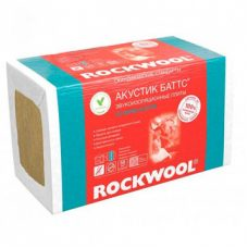 Базальтовая вата Rockwool Акустик Баттс (1000х600х60 мм)