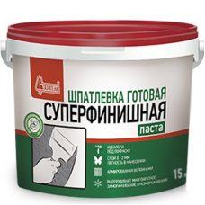 Шпатлевка готовая полимерная Старатели Суперфинишная 15 кг
