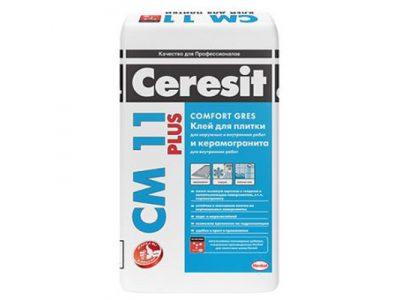 Клей для плитки Ceresit CM 11 Plus 25 кг