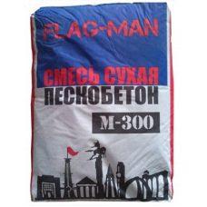 Пескобетон Флагман М-300 40 кг