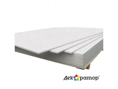 Гипсокартонный лист ГКЛ Декоратор А УК 2500х1200х9,5 мм