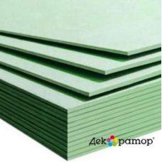Гипсокартонный лист ГКЛВ влагостойкий Декоратор А УК 2500х1200х9,5 мм