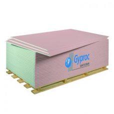 Гипсокартонный лист ГКЛО огнестойкий Gyproc УК 2500х1200х12,5 мм