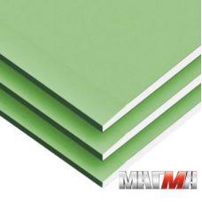 Гипсокартонный лист ГКЛВ Магма влагостойкий 2500х1200х9,5 мм