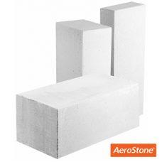 Блок из ячеистого бетона Aerostone газосиликатный D500 600х250х75 мм