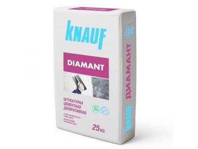 Штукатурка цементная Кнауф Диамант 260 белая 25 кг